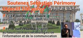 Objectif 500 euros pour deux conférences en Afrique