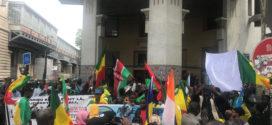 Manifestation pour la paix au Mali